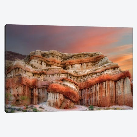 Red Rock Formation Canvas Print #DEN272} by Dennis Frates Canvas Print