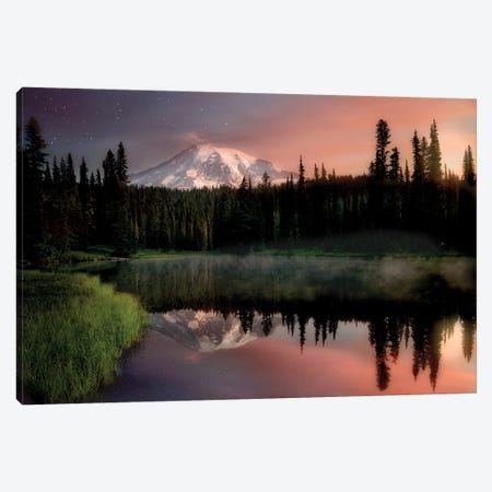 Reflection Lake Canvas Print #DEN275} by Dennis Frates Canvas Wall Art