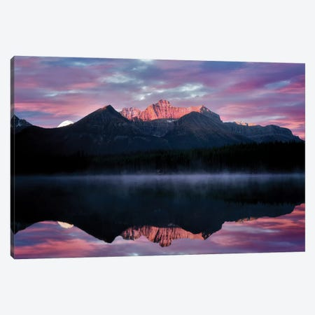 Rockies Reflection 3-Piece Canvas #DEN280} by Dennis Frates Canvas Art