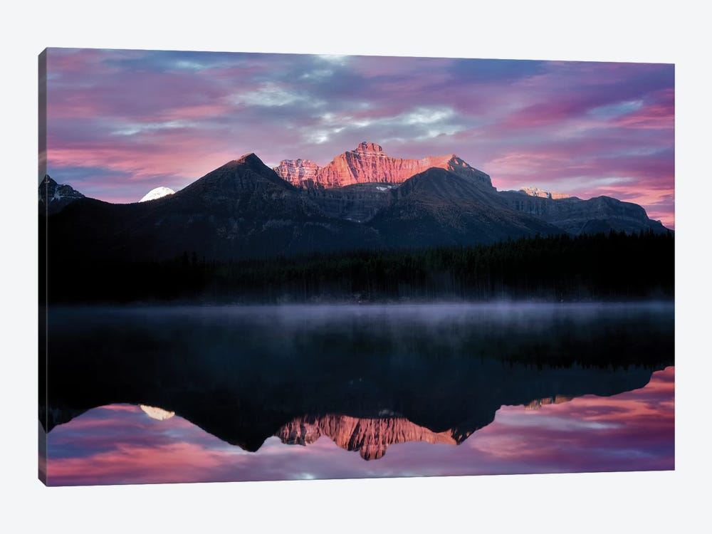 Rockies Reflection by Dennis Frates 1-piece Art Print