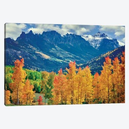 Rocky Mt. Fall Canvas Print #DEN281} by Dennis Frates Canvas Art