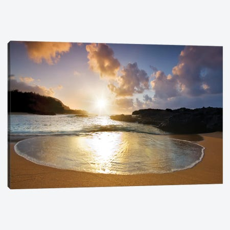 Round Wave I Canvas Print #DEN284} by Dennis Frates Canvas Print