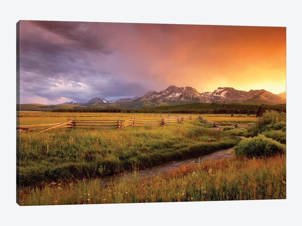 Sawtooth Sunrise by Dennis Frates 1-piece Canvas Art Print