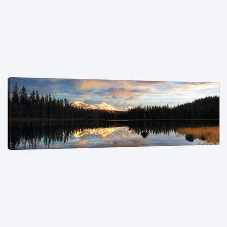 Scott Lake Sunset Canvas Print #DEN294} by Dennis Frates Canvas Wall Art