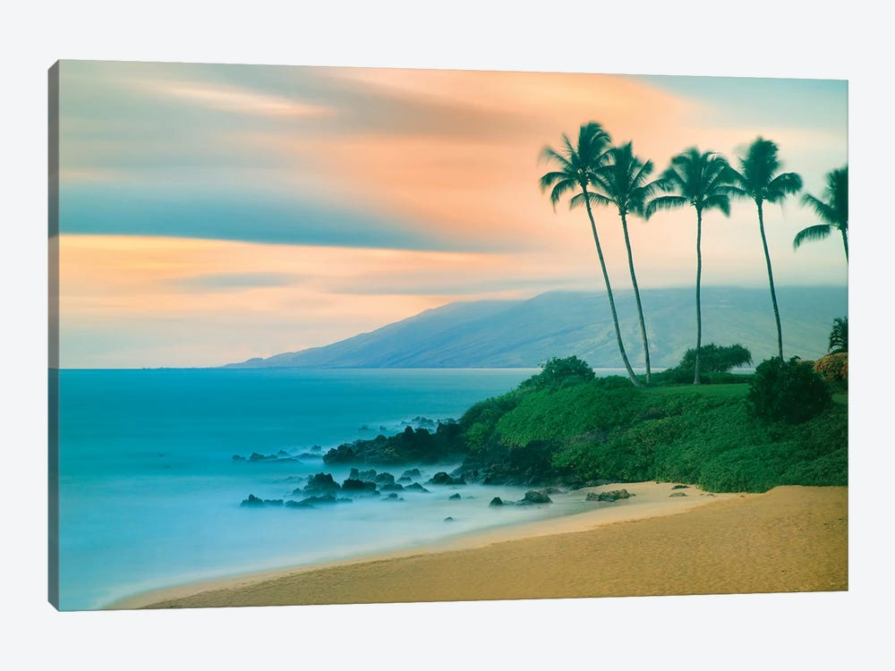 Seaside Sunset by Dennis Frates 1-piece Canvas Art