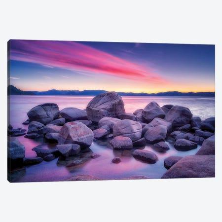 Shoreline Sunrise II Canvas Print #DEN306} by Dennis Frates Canvas Art