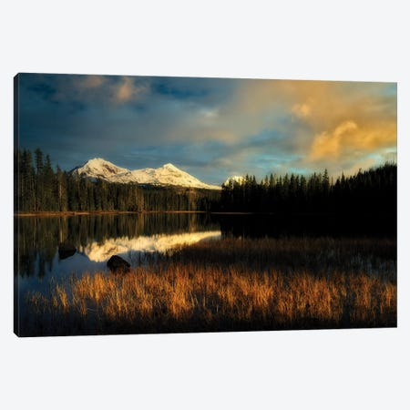 Sparks Sunset Canvas Print #DEN319} by Dennis Frates Canvas Wall Art
