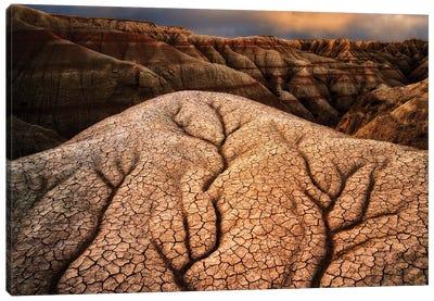 Badlands Sculpture Canvas Art Print