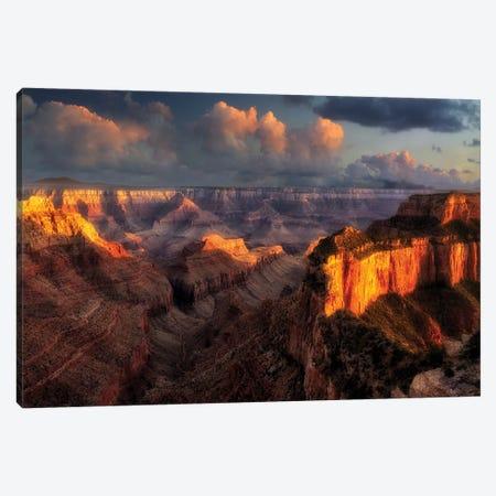 Spectacular Sunset I Canvas Print #DEN320} by Dennis Frates Art Print