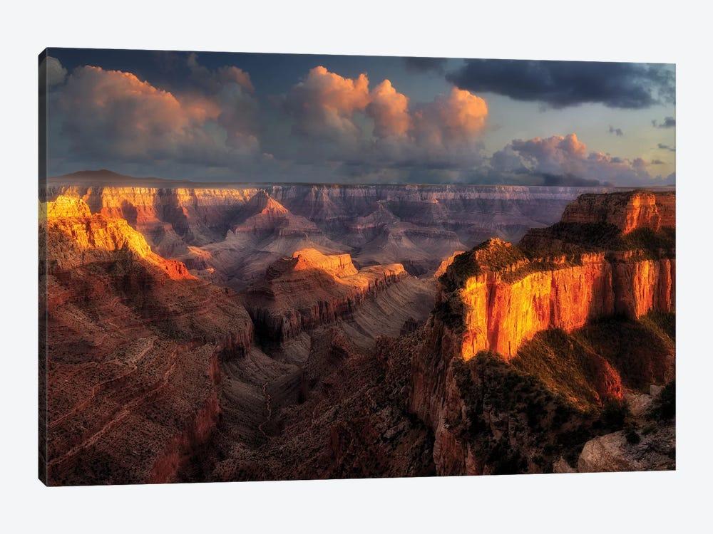Spectacular Sunset I by Dennis Frates 1-piece Canvas Artwork