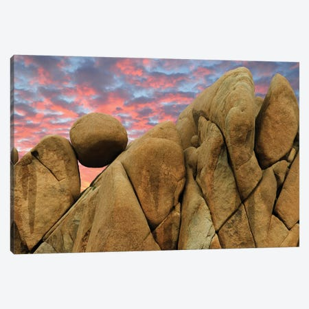 Balancing Rock I Canvas Print #DEN32} by Dennis Frates Canvas Artwork