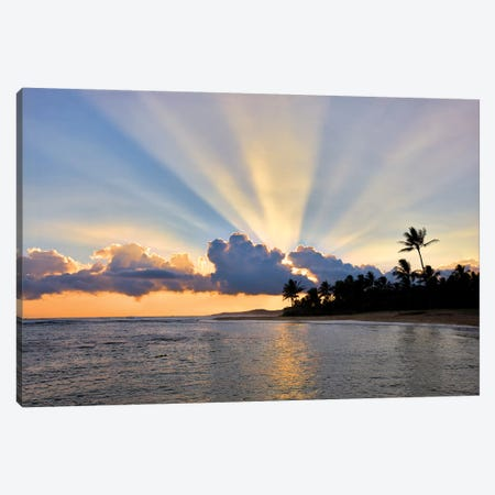 Sunburst 3-Piece Canvas #DEN331} by Dennis Frates Canvas Artwork