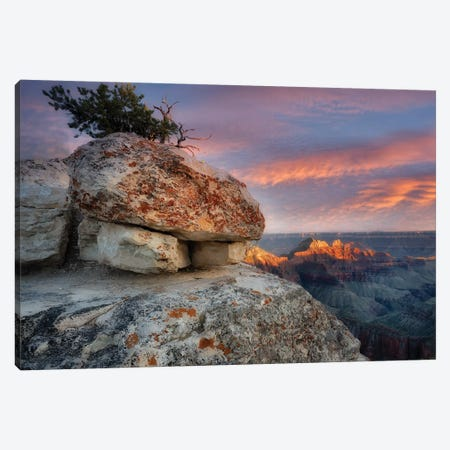 Sunset Grand Canyon III Canvas Print #DEN338} by Dennis Frates Canvas Art