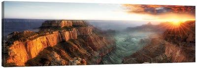Sunset Grand Canyon V Canvas Art Print