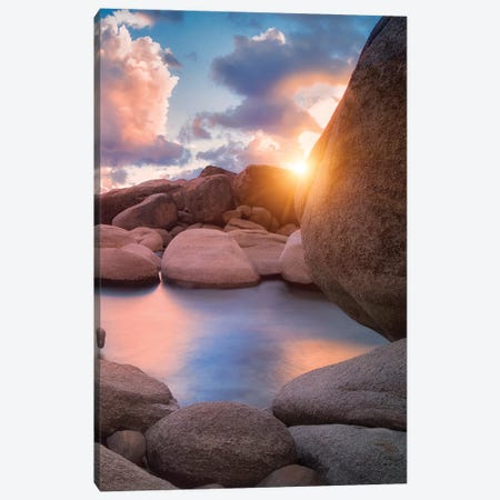 Tahoe Shore II Canvas Print #DEN351} by Dennis Frates Canvas Wall Art