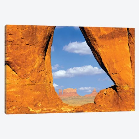 Tear Drop Arch Canvas Print #DEN354} by Dennis Frates Canvas Print