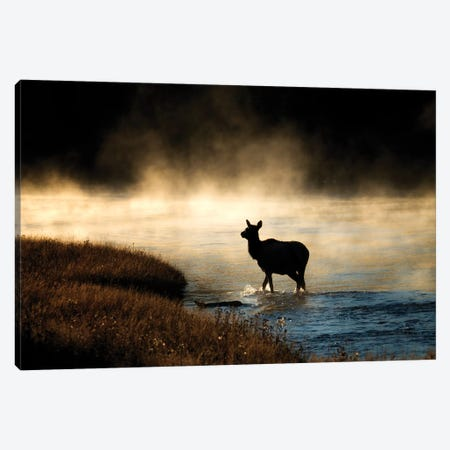 The Crossing Canvas Print #DEN359} by Dennis Frates Canvas Artwork