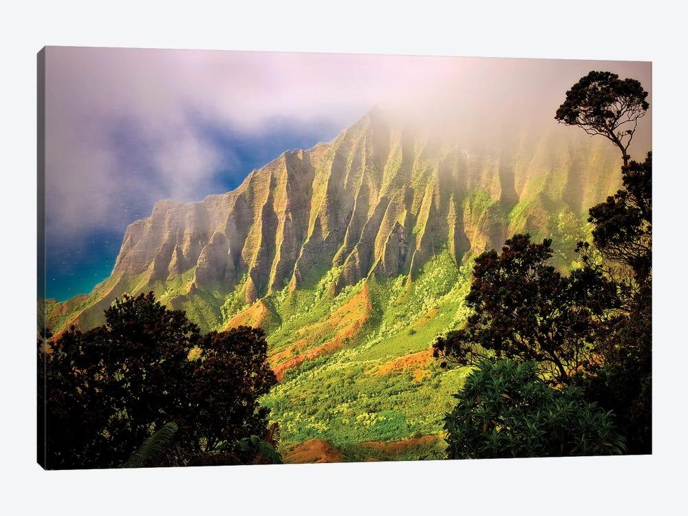 Tropical Sunrise by Dennis Frates 1-piece Canvas Print