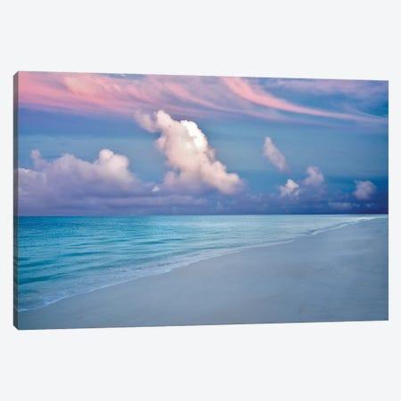 Turks And Caicos Sunrise 3-Piece Canvas #DEN378} by Dennis Frates Canvas Art