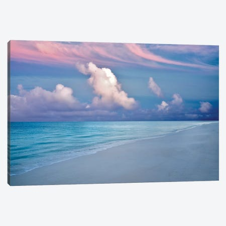 Turks And Caicos Sunrise Canvas Print #DEN378} by Dennis Frates Canvas Art