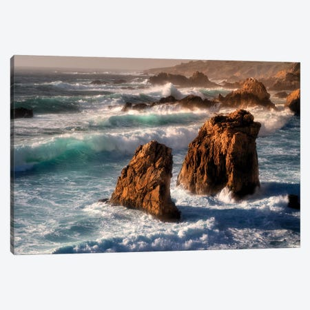 California Coast Canvas Print #DEN50} by Dennis Frates Canvas Art
