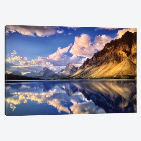 Canadian Reflection Canvas Print #DEN52} by Dennis Frates Canvas Wall Art