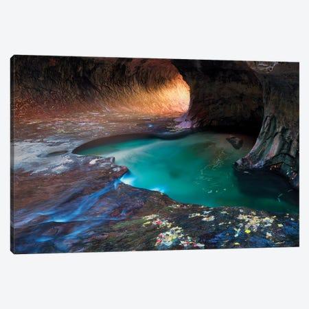 Canyon Light Canvas Print #DEN57} by Dennis Frates Art Print