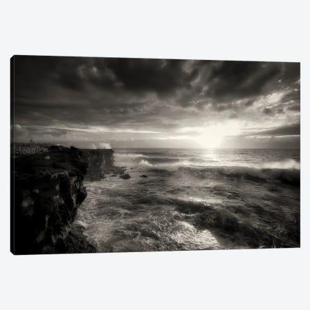 Oceanas Fury Canvas Print #DEN604} by Dennis Frates Art Print