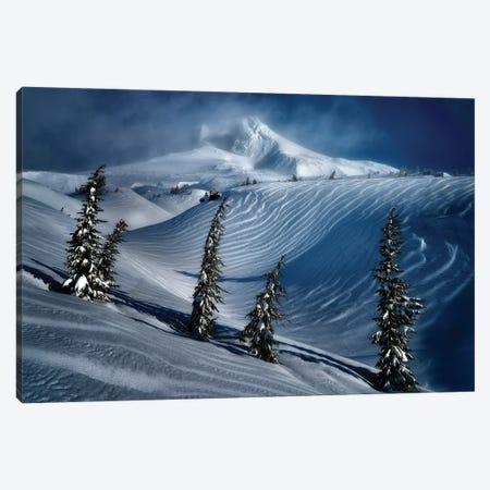 Hood Winter Canvas Print #DEN637} by Dennis Frates Canvas Art