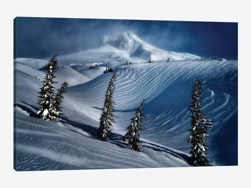 Hood Winter by Dennis Frates 1-piece Canvas Wall Art