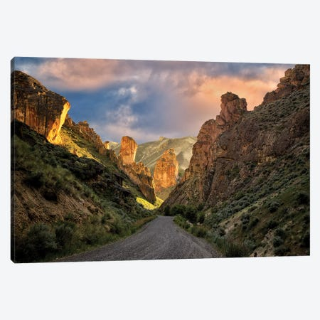 Canyon Walls Canvas Print #DEN63} by Dennis Frates Canvas Print