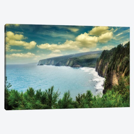 Hawaii Coastline Canvas Print #DEN644} by Dennis Frates Canvas Art Print