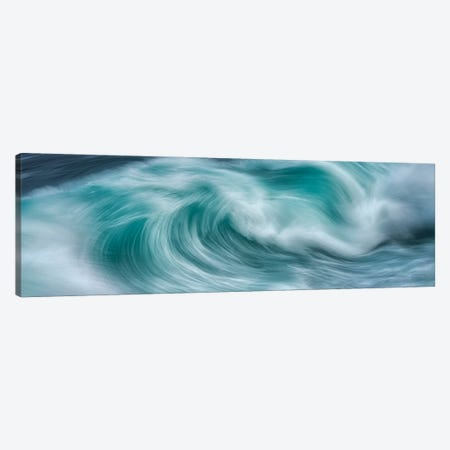 Wave Power Canvas Print #DEN647} by Dennis Frates Art Print
