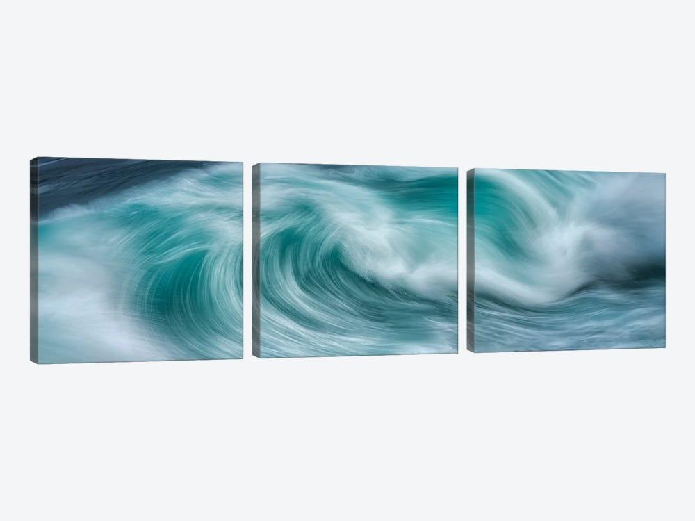 Wave Power by Dennis Frates 3-piece Canvas Art Print