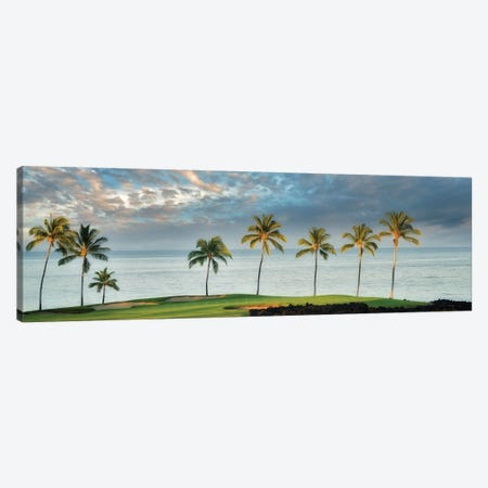 Golf Course Sunrise Canvas Print #DEN649} by Dennis Frates Canvas Wall Art