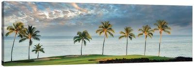 Golf Course Sunrise Canvas Art Print