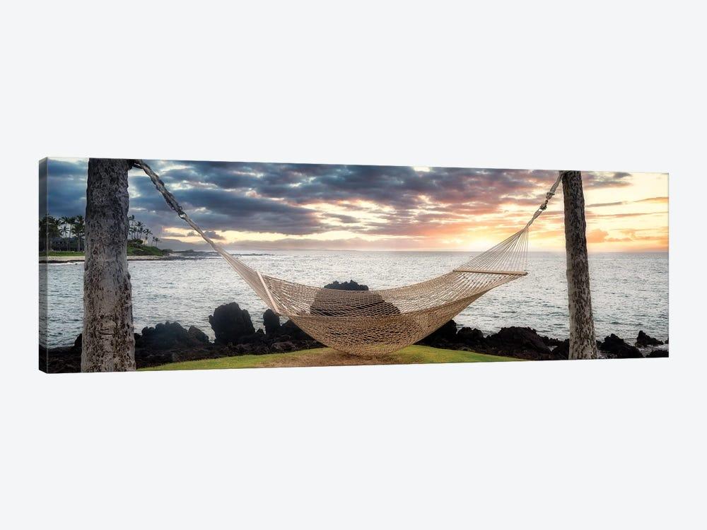 Tropical Hammock by Dennis Frates 1-piece Art Print