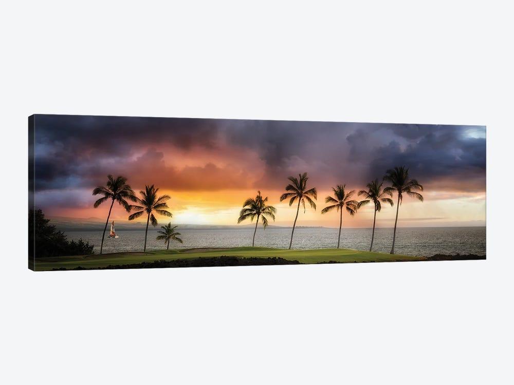 Hawaii Sunset II by Dennis Frates 1-piece Canvas Wall Art