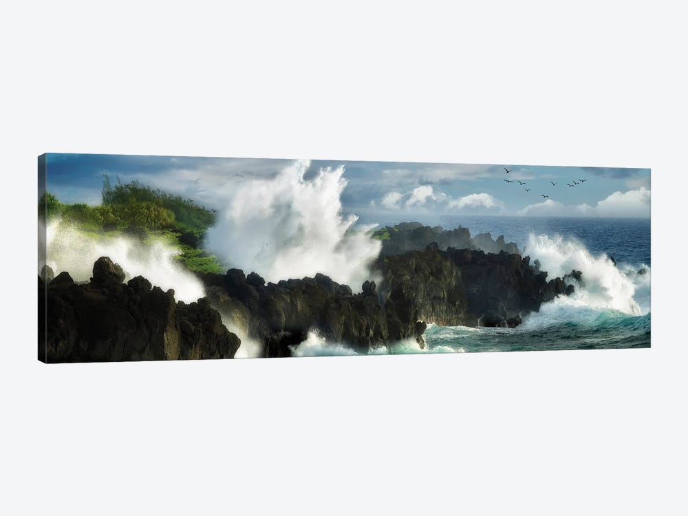 Oceans Fury by Dennis Frates 1-piece Canvas Wall Art