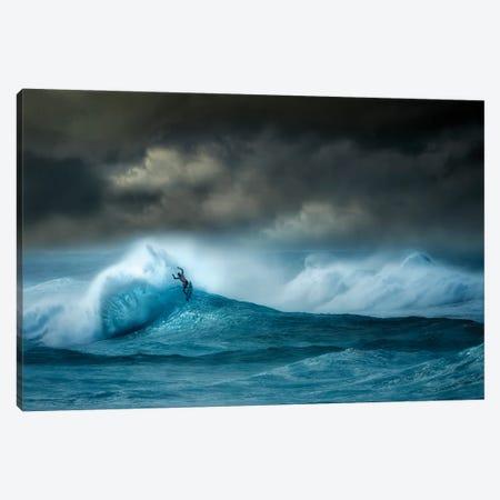Storm Wave II Canvas Print #DEN663} by Dennis Frates Canvas Artwork
