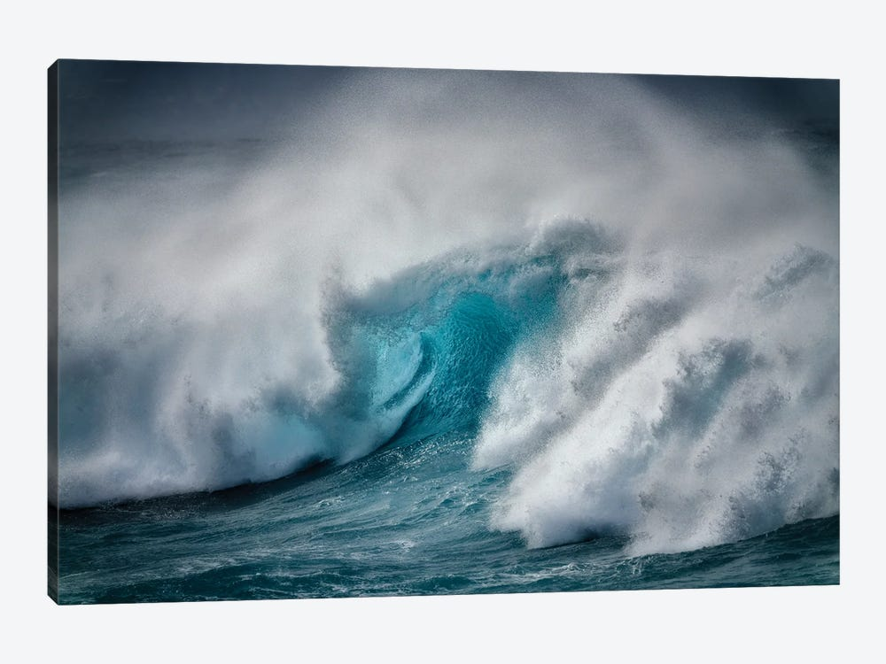 Storm Wave III by Dennis Frates 1-piece Canvas Wall Art