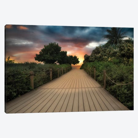 Path To Tropics II Canvas Print #DEN691} by Dennis Frates Canvas Print