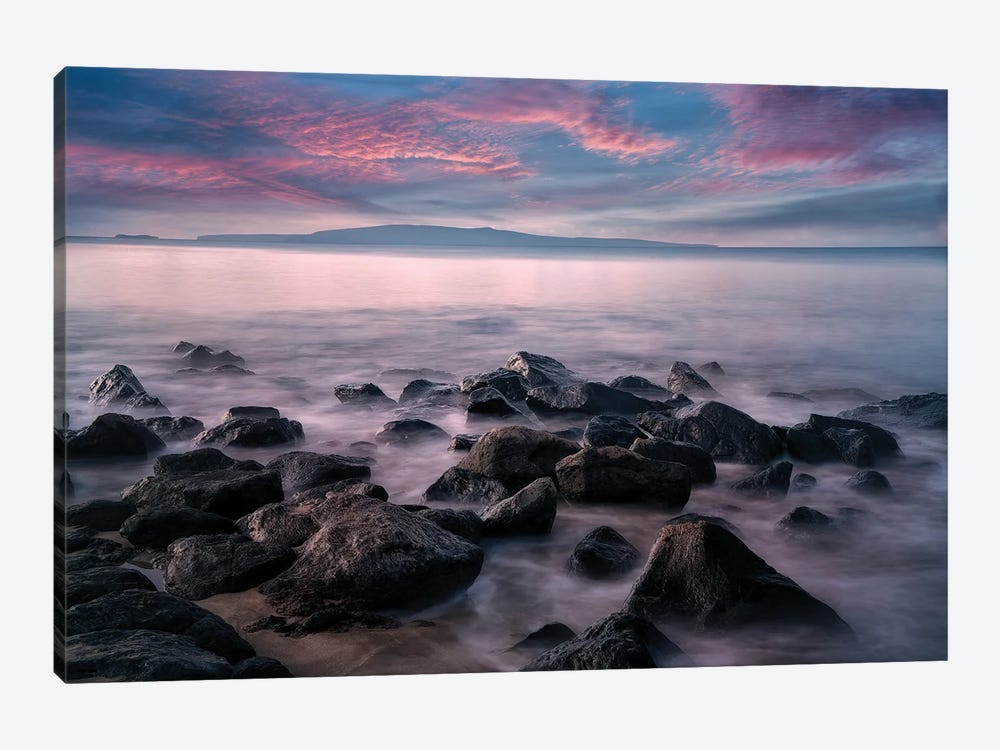 Maui Sunset IV by Dennis Frates 1-piece Canvas Wall Art