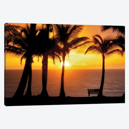 Sunset VIew Canvas Print #DEN694} by Dennis Frates Canvas Artwork