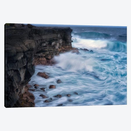 Tropical Waves IV Canvas Print #DEN701} by Dennis Frates Canvas Art Print
