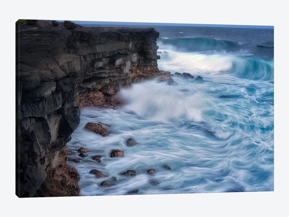 Tropical Waves IV by Dennis Frates 1-piece Canvas Art