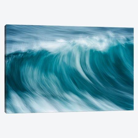 Storm Wave V Canvas Print #DEN702} by Dennis Frates Art Print