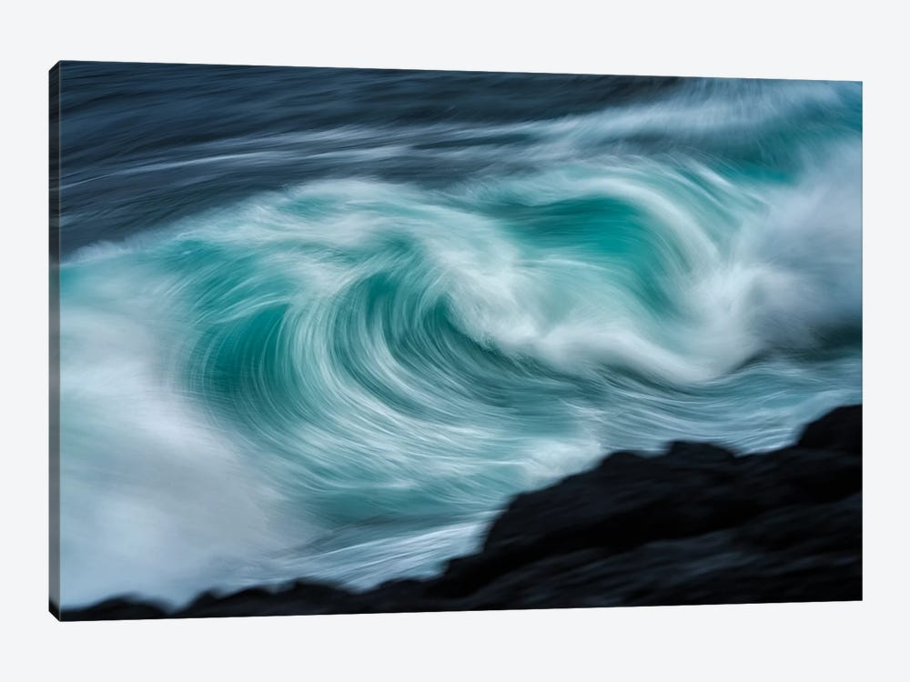 Storm Wave VI by Dennis Frates 1-piece Canvas Wall Art