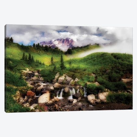 Clearing Peak Canvas Print #DEN70} by Dennis Frates Canvas Art