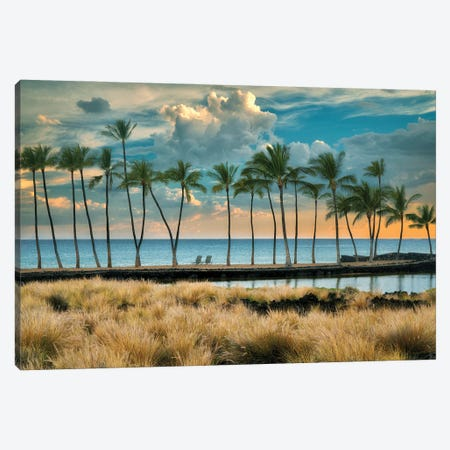 Aa Beach Canvas Print #DEN713} by Dennis Frates Canvas Artwork
